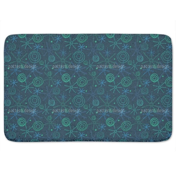 Meteoric Shower Bath Mat
