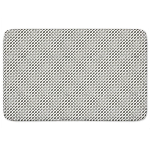Metal Grid Bath Mat