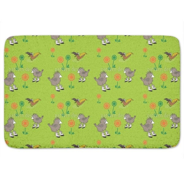 Meadow Birds Bath Mat