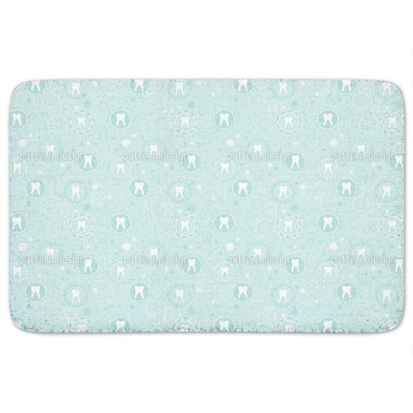 Primary Teeth Of Little Baby Boys Bath Mat