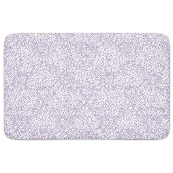 Lace Love Bath Mat