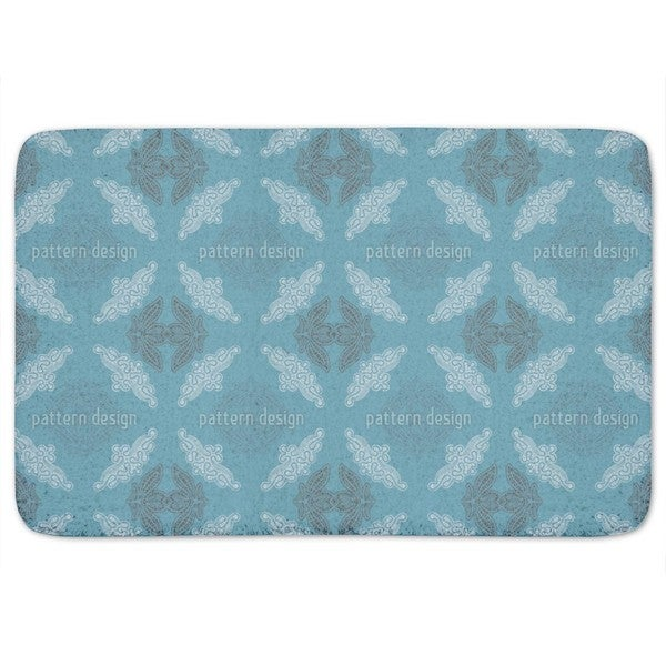 Just Lace Teal Bath Mat