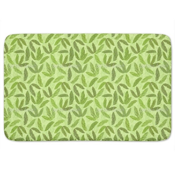 Jungle Feathers Bath Mat