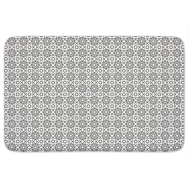 Islamic Tile Bath Mat