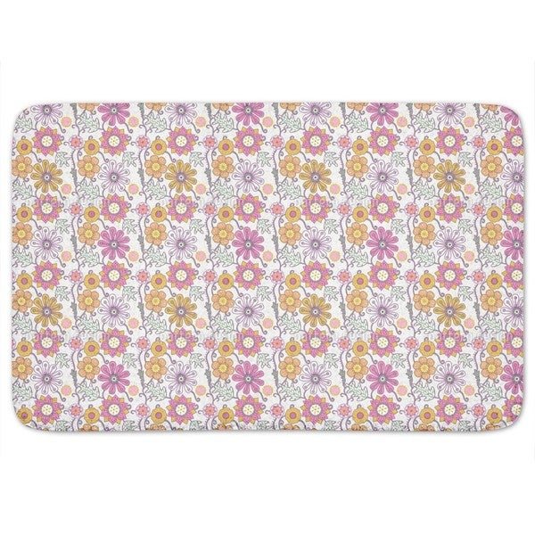 Irina Loves Magic Flowers Bath Mat 17997818
