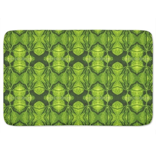 In The Green Hell Bath Mat