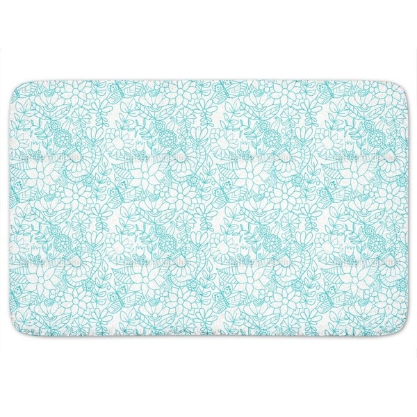 In The Garden Of The Snow Queen Bath Mat
