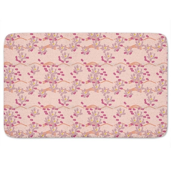 Lotus Love Pink Bath Mat