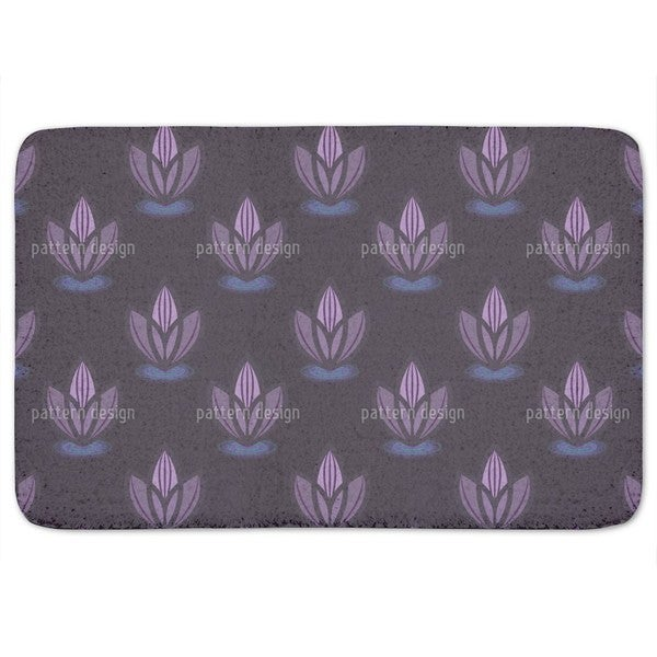 Lotus Lilaq Bath Mat