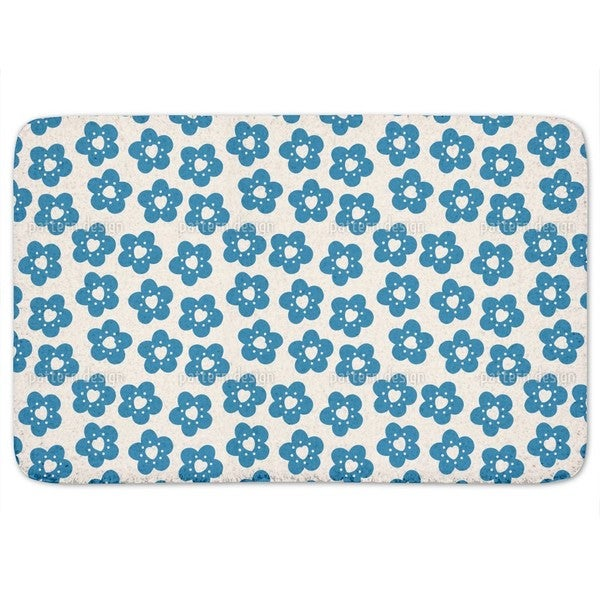Little Flowers Have A Heart Bath Mat