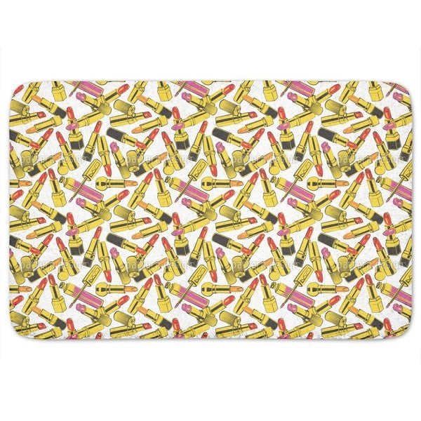 Lipstick Obsession Bath Mat