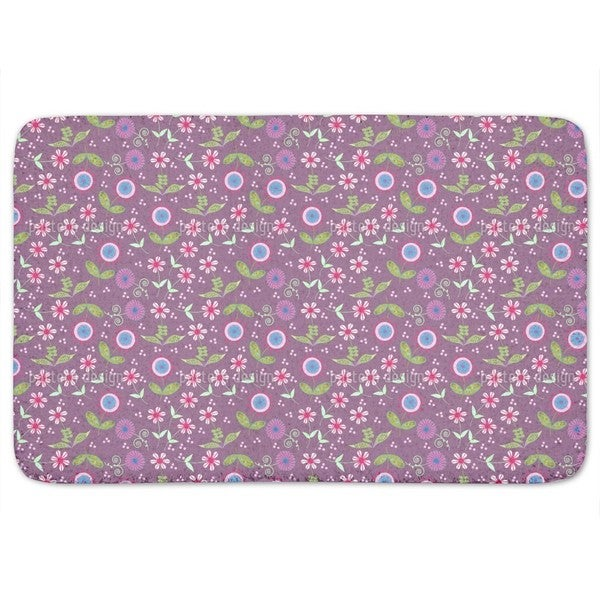 Land Of Floralia Bath Mat
