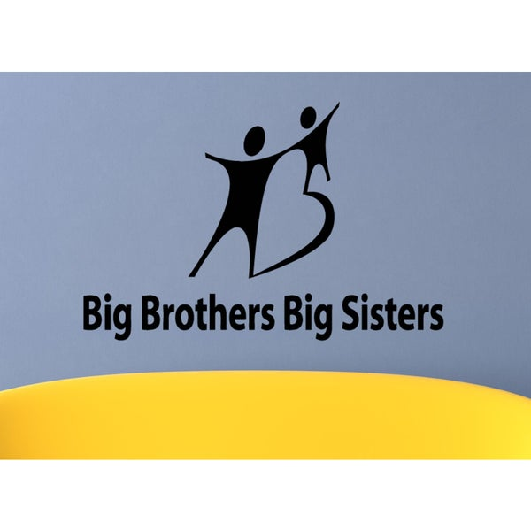 Big Brothers Big Sisters Wall Art Sticker Decal
