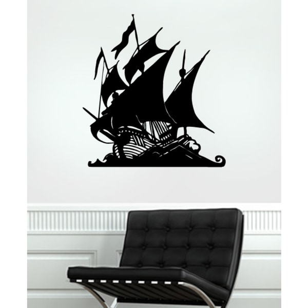 The ship set sail Wall Art Sticker Decal