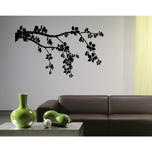 Flowering shrubs Wall Art Sticker Decal