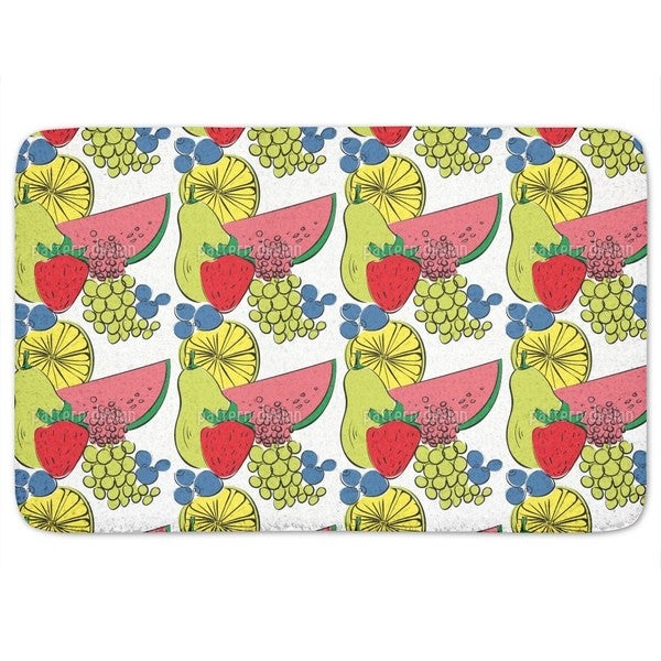 Fruit Cocktail Bath Mat