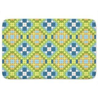 Flag Mosaic Bath Mat