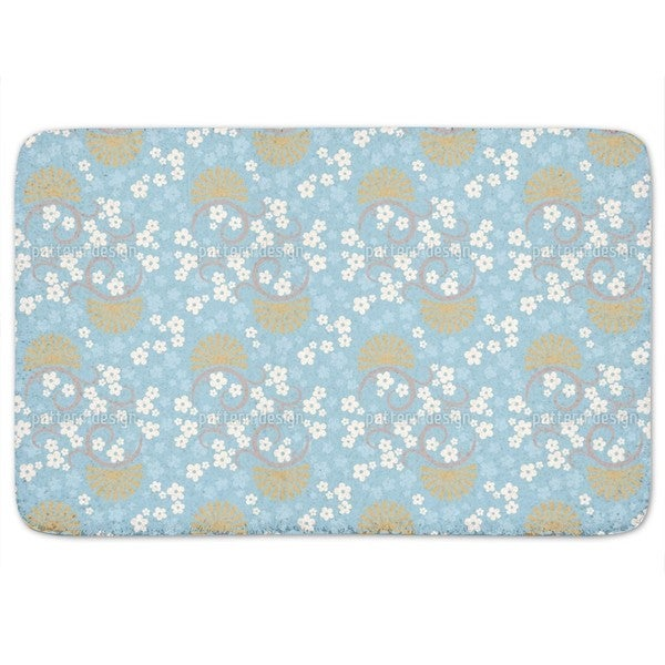 Eastern Magic Blue Bath Mat