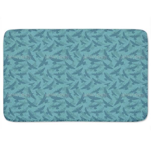 Dove Blue Bath Mat