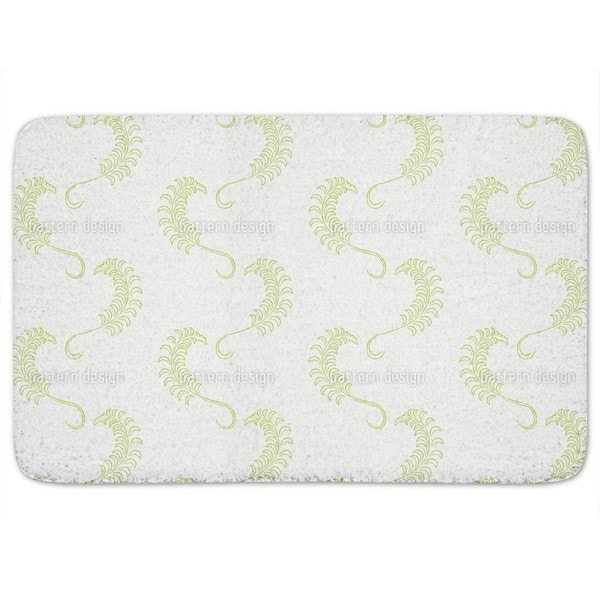 Dolce Farniente White Bath Mat
