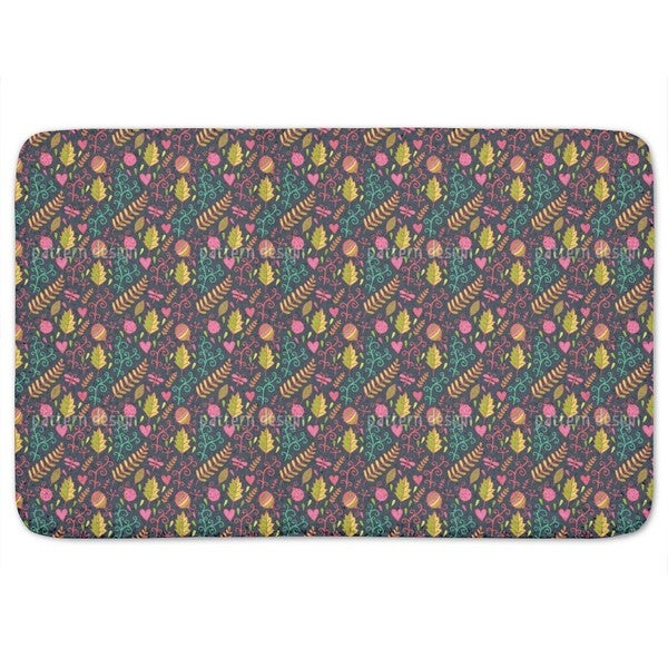 Crawling On The Forest Floor Bath Mat