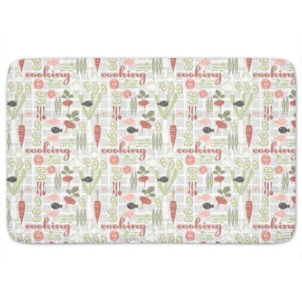 Cooking Fun Bath Mat