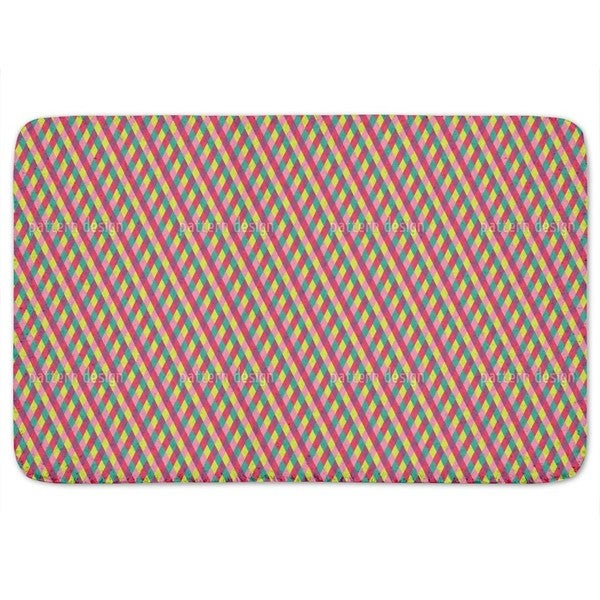 Circus Diamonds Bath Mat