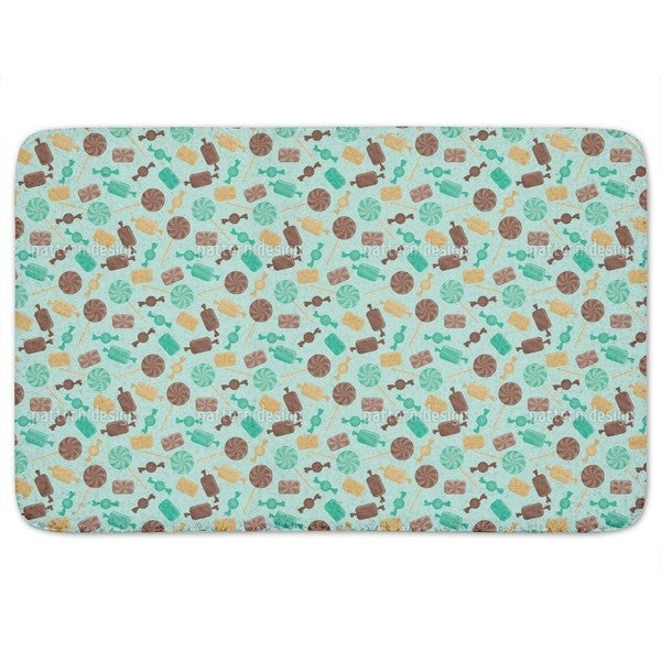 Candy Mint Bath Mat