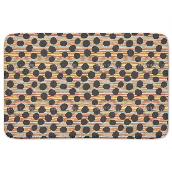 Black Hole River Bath Mat