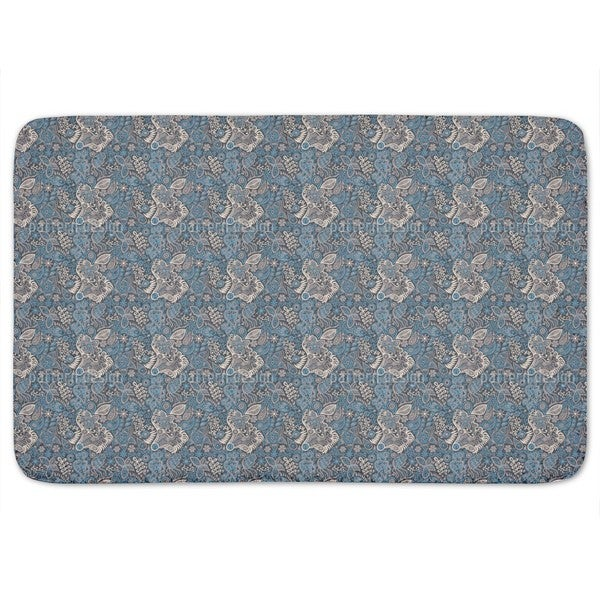 At Night In The Garden Of Eden Bath Mat