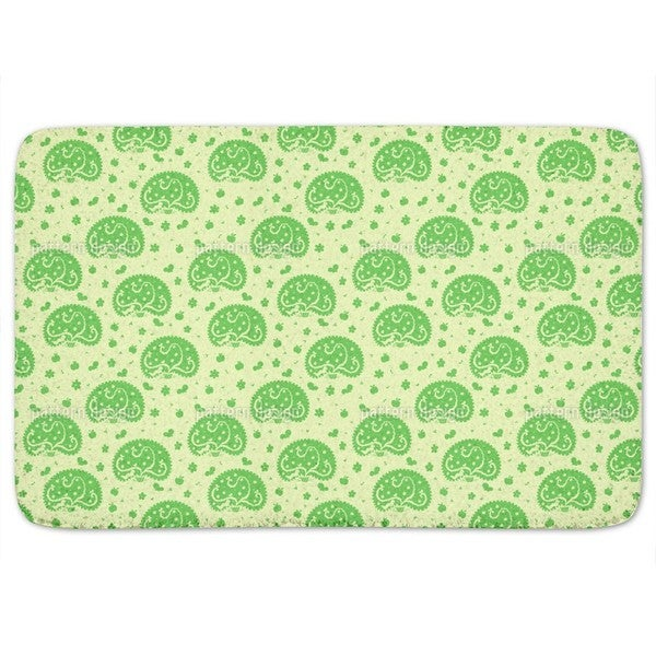Apple Tree And Worm Bath Mat