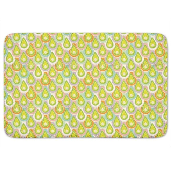 Abstract Scales Bath Mat