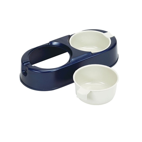 Bergan Pet Easy Diner Food and Water Dish Set