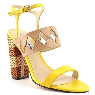 Charles David Women's 'Jungle' Leather Sandals