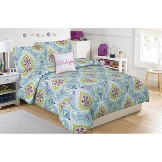 Tatiana Geo Paisley 5-piece Comforter Set with Decorative Pillow