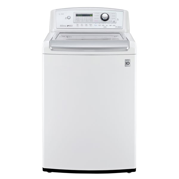 LG WT5270CW 4.9-cubic Foot MEGA Capacity High Efficiency Top Load Washer in White