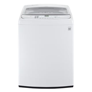 LG WT1701CW 4.9-cubic Foot Mega Capacity Front Control TurboWash Washer in White