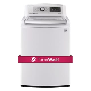 LG WT5480CW 5-cubic Foot MEGA Capacity TurboWash Washer in White