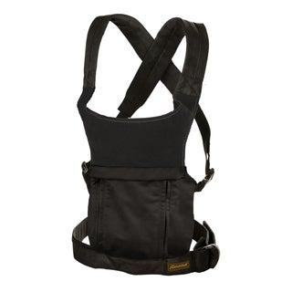 The Peanut Shell Evolve Organic Baby Carrier in Black