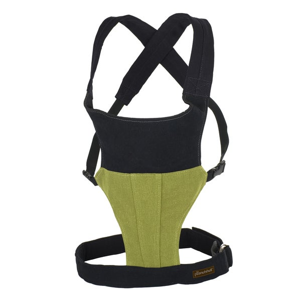 The Peanut Shell Embark Organic Baby Carrier in Moss Green 18005068