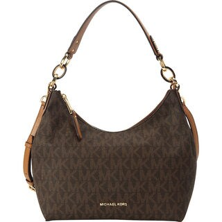 Michael Kors Isabella Medium Brown Convertible Shoulder Bag