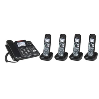 Clarity E814 Amplified Corded Phone with Digital Answering Machine