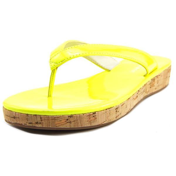 Nine West Women's 'So Savvy' Yellow Patent Sandals
