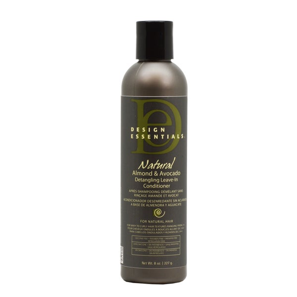 Design Essentials Natural Almond and Avocado Detangling 8-ounce Leave in Conditioner