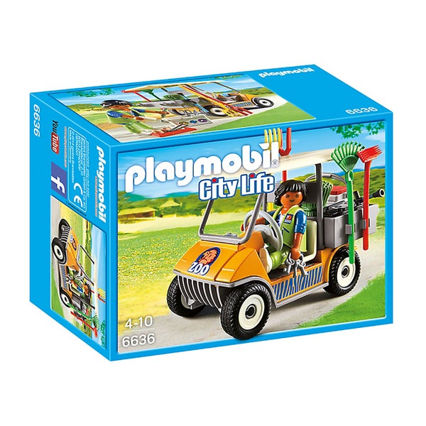Playmobil Zookeeper's Cart Building Kit 18005717