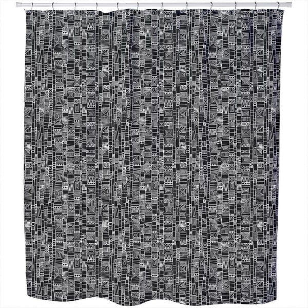 Vero Nero Shower Curtain