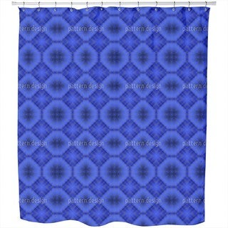 Ultramarine Shower Curtain