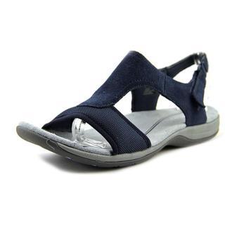 Easy Spirit Women's 'SeaCoast' Regular Blue Suede Sandals