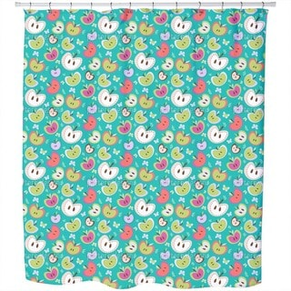 The Sweetest Apples Shower Curtain