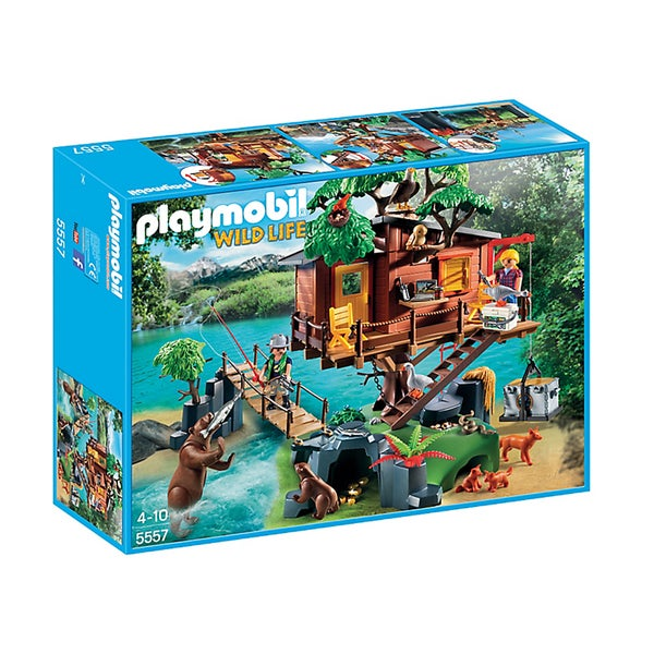 Playmobil Adventure Tree House Building Kit 18007016